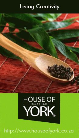 This eco-friendly bamboo spoon is available from House of York from only R19.95. Bamboo doesn't conduct heat, so it won't melt in hot soups and stews. #bamboo #ecofriendly #utensils #spoons #cooking