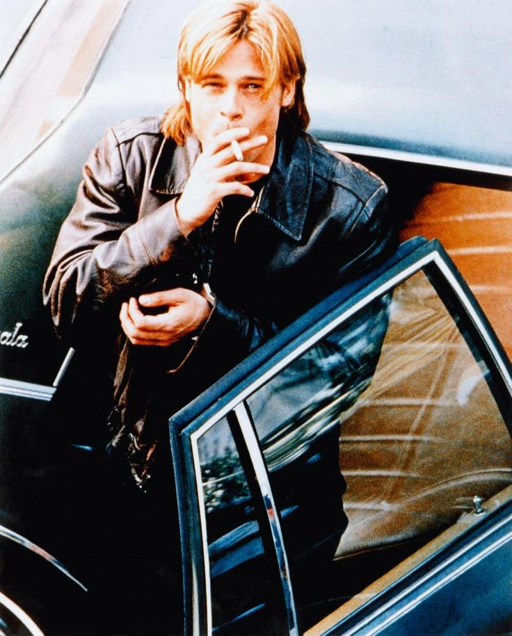 "Brad Pitt en ""La Sombra del Diablo"" (The Devil's Own), 1997"
