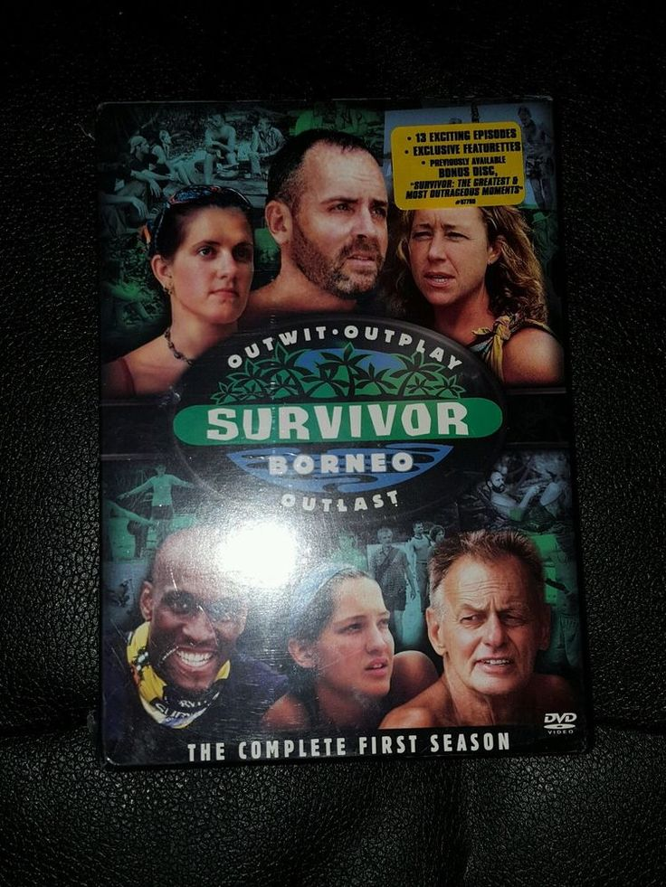 New Sealed Survivor Borneo DVD Complete First 1st Season 5-Disc Set Bonus Disk