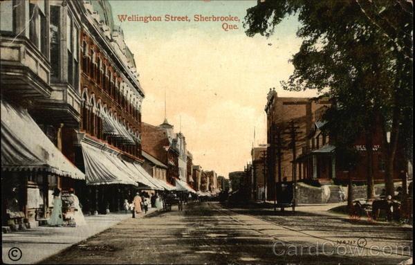Wellington Street 1911