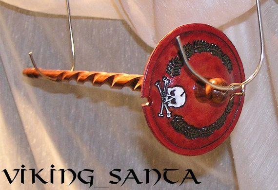 Viking Santa Drop Spindle LG (EDS0512)
