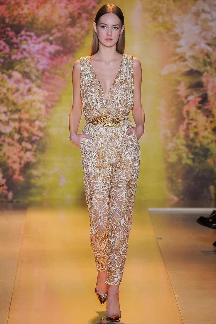 What to wear on New Year's Eve - FANCY PARTY - GO GOLD! zuhair murad