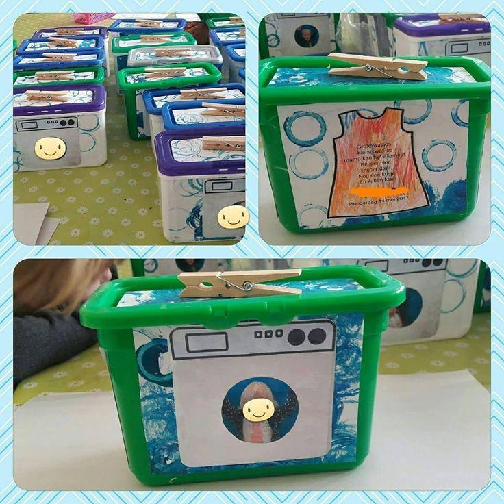 FB: Geschenkjes maken in de kleuterklas - wasspeldendoos