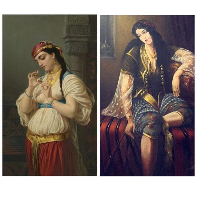 """#mulpix Tunisian Portrait in Ottoman Era... لوحات تونسية من العهد العثماني. مصدر ايحاء COMING SOON قريباً جداً In Ramadan 2016 رمضان مجموعة """"تونس الخضراء"""" للكوتور Tunisie La Verte   #soon  #comingsoon  #tunisia  #tunisian  #hautecouture  #couture  #haute  #culture  #Kuwait  #tunis  #tunisie  #fashion  #ramadan  #ramadan2016"""