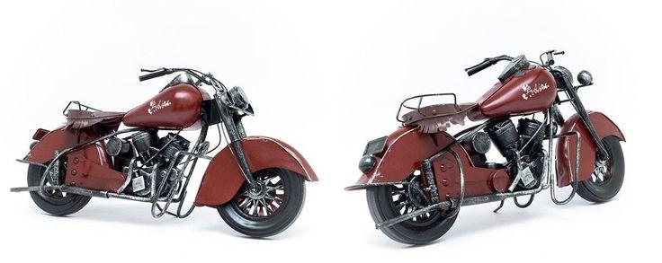 Miniatura Moto Indian Scout - Machine Cult   A loja das camisetas de carro e moto