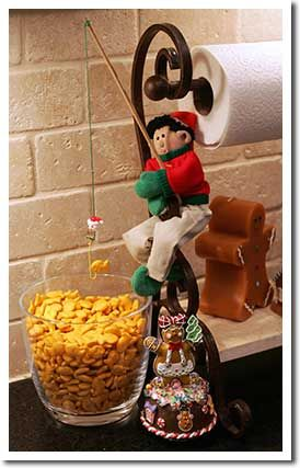 elf ideas for elf on the shelf: Holiday, Christmas Elf, Elf Fishing, Shelves, Shelf Christmas, Shelf Ideas, Elf Magic, Christmas Ideas, Elf On The Shelf