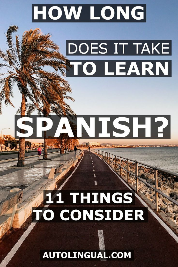How Long Does It Take To Learn Spanish? (11 Things To