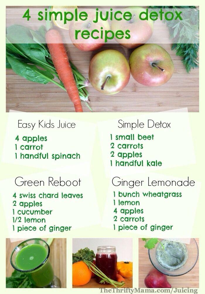 4 Homemade Detox Juices