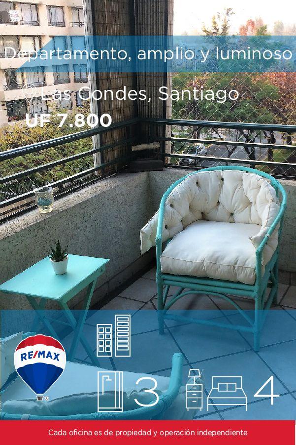 [#Departamento en #Venta] - Departamento, amplio y luminoso. A minutos de Metro Manquehue  🛏: 4 🚿: 3  👉🏼 http://www.remax.cl/1028042004-19  #propiedades #inmuebles #bienesraices #inmobiliaria #agenteinmobiliario #exclusividad #asesores #construcción #vivienda #realestate #invertir #REMAX #Broker #inversionistas #arquitectos #venta #arriendo #casa #departamento #oficina #chile