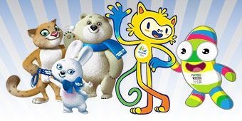 A competition to create the mascots for Olympic Winter Games in Sochi. Russia, 2014