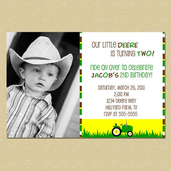 31 best Tractor Birthday images on Pinterest Birthday party ideas
