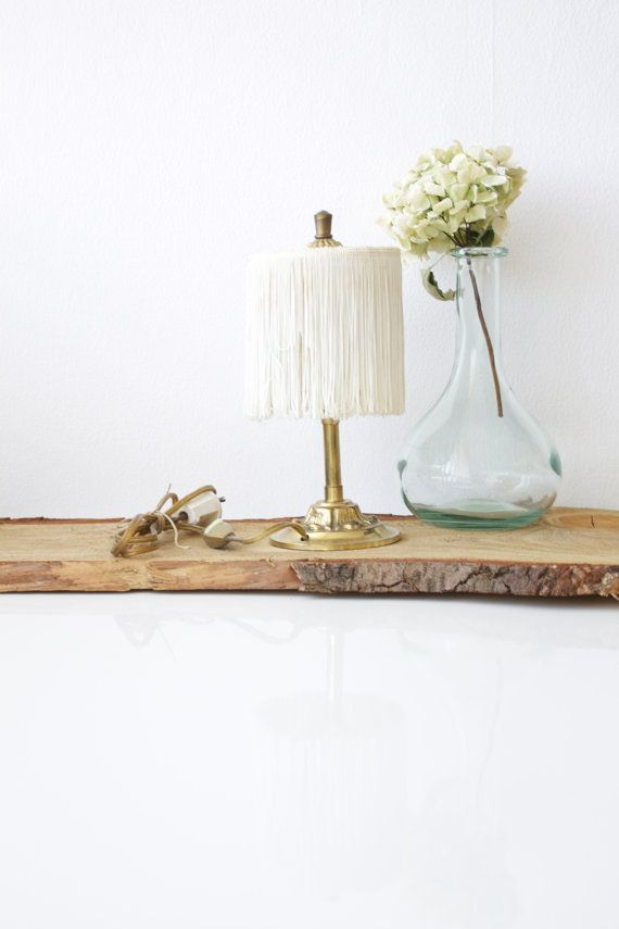 Lighting - Vintage Lamp With Fringes