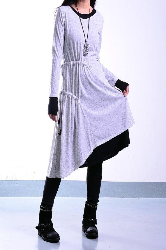 Blue Lotus idea2lifestyle tunic dress / layered cotton tunic