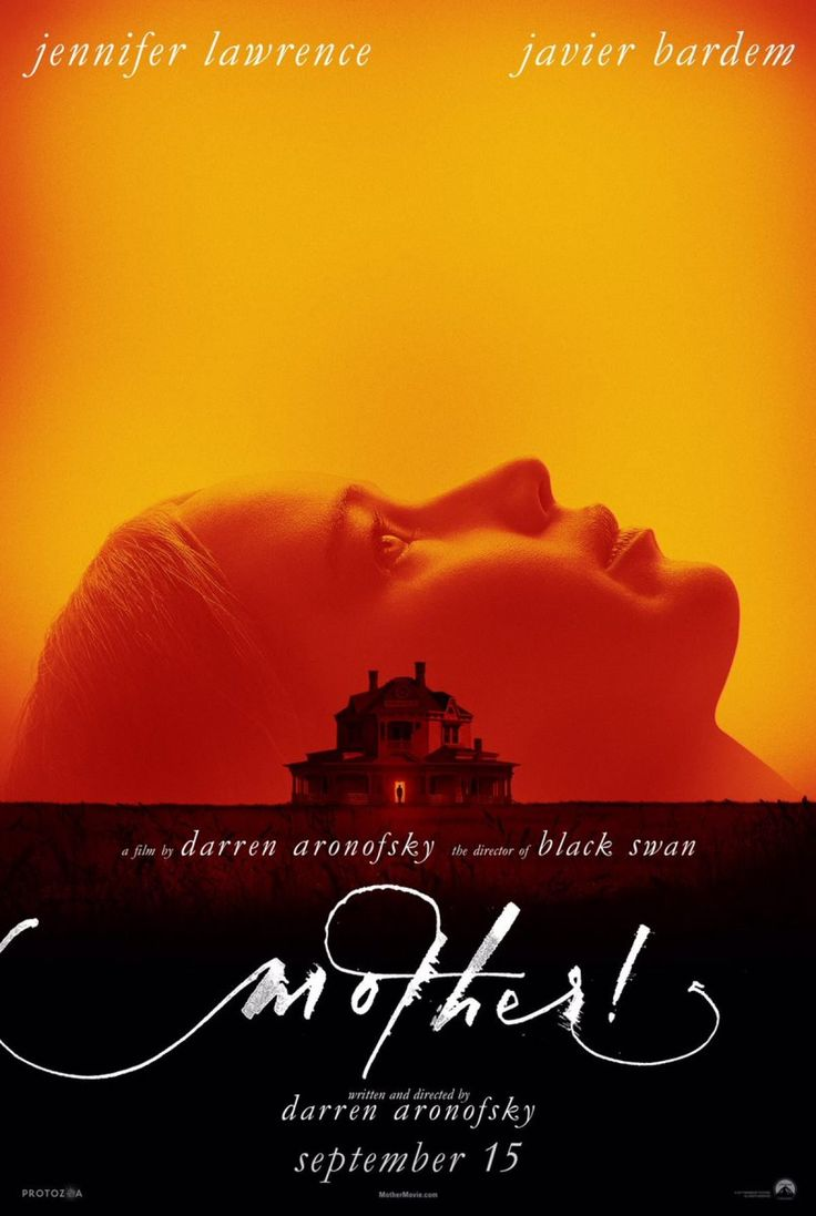 High resolution official theatrical movie poster ( of for Mother! Image  dimensions: 1374 x Directed by Darren Aronofsky. Starring Jennifer  Lawrence, Javier ...