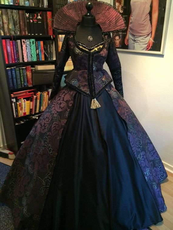 Regina Mills evil Queen once upon a time costume cosplay ...