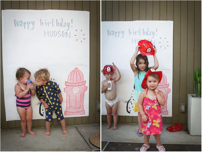 DIY Kids' Photo Booth