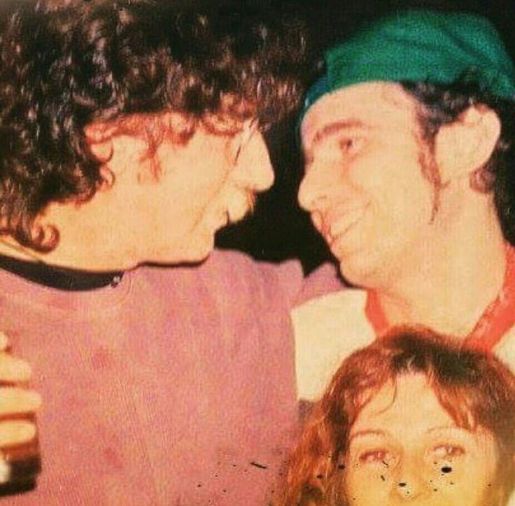 Andrés Calamaro y Charly García  (Instagram)