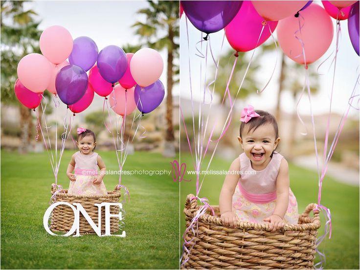 "Baby's ""first birthday"" photo shoot! How fun! #IndioBabyPhotographer Melissa Landres | ©www.melissalandres.com"