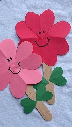 Flowers Craft For Kids /fun4all