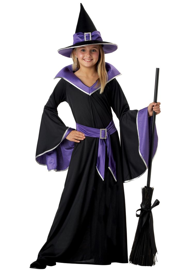 Show everyone the Wicked Witch has glamour in this Child Glamour Witch Costume…