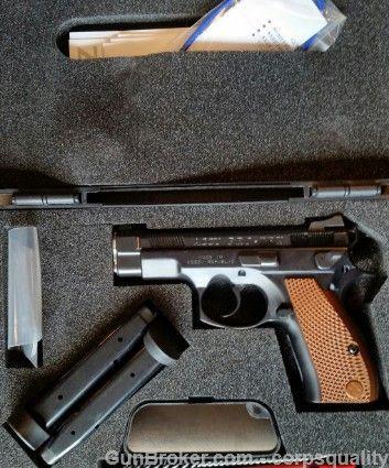 CZ Custom Accu Pro-Tek 75 D Compact Pro Tek 9mm : Semi Auto Pistols at GunBroker.com