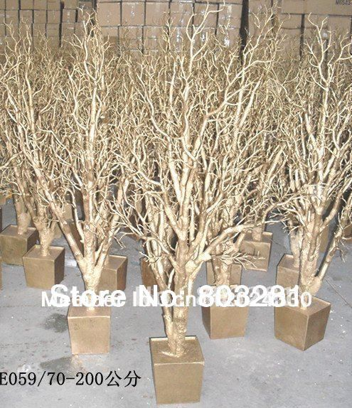 Event Decorative statue tree Natural  Branch wedding crystal tree table top tree Jewelry holder  Any size can be customized