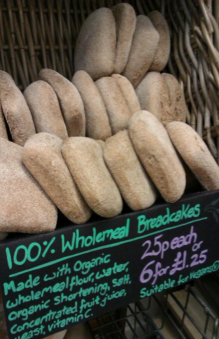 Sheaf Valley Bakery @SheafValley @Moor Market Sheffield 100% Wholemeal Breadcakes only 25p each or £1.25 for 6!