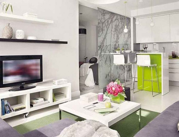 Small Living Room, Contemporary Small Living Room Idea In Small Apartment All White Color Scheme Combined With Pastel Colors Small Living Room And Dining Room Combo Light Grey L Shaped Fabric Cushion Sofa Sets With Glossy W: Ideas For A Small Living Room In Apartment