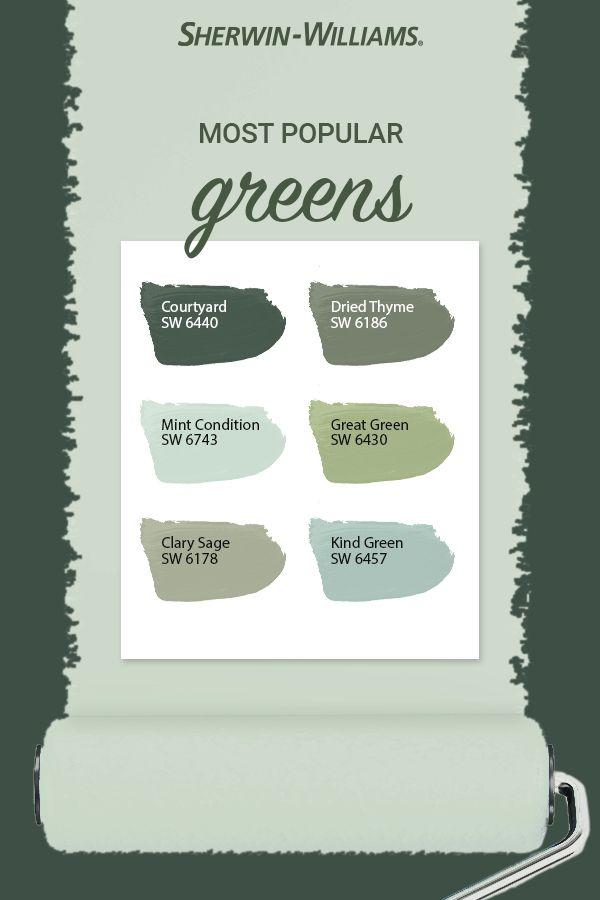 Popular Green Paint Colors Green Paint Colors Sherwin Williams Paint Colors Green Sherwin Williams Paint Colors