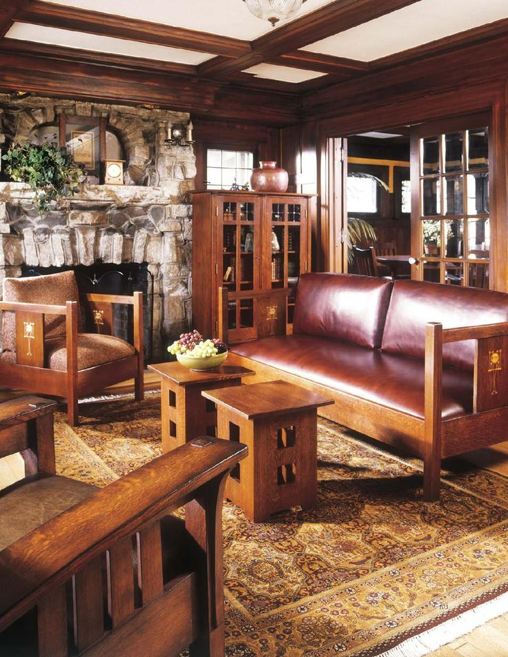 ISSUU - Stickley Mission Oak & Cherry Collection by Stickley.   I like the two little tables