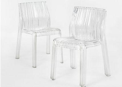 Καρέκλα διάφανη | puzzlehome