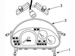 Как снять и установить панель приборов на Дэу Матиз