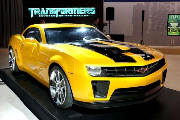 Chevrolet Camaro 2012 Edición Transformers