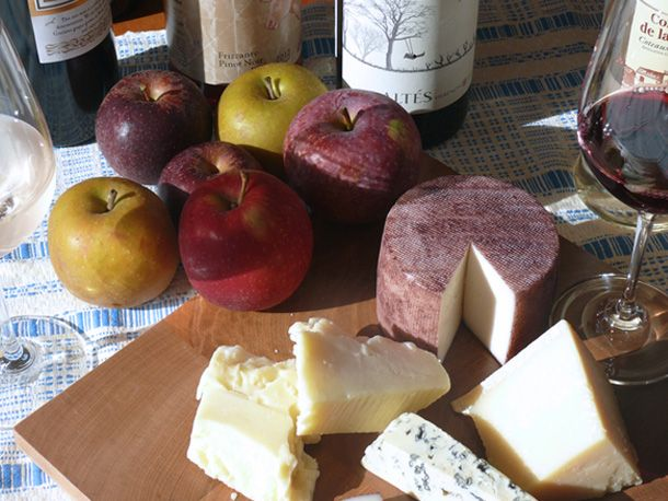 From my latest article, The Serious Eats Cheese and Wine Pairing Cheat Sheet #wine #cheese