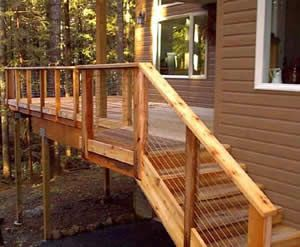 cable deck railing deck railings railing ideas front deck porch ideas