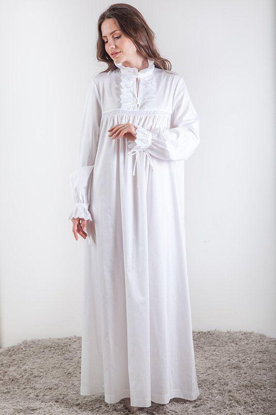 new product a107b 6ad2d Viktorianisches Nachthemd, handgefertigte viktorianischen ...