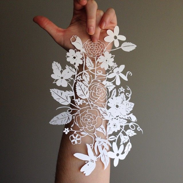 beautiful papercut