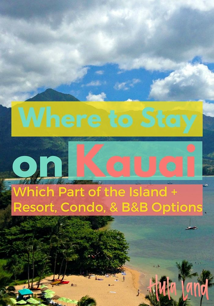 If you're planning a trip to Kauai and wondering where to stay, you've got to read this post! I'm breaking down the pros and cons of each part of the island