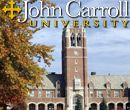 John Carroll University is a private, coeducational, Jesuit Catholic university located in University Heights, Ohio.