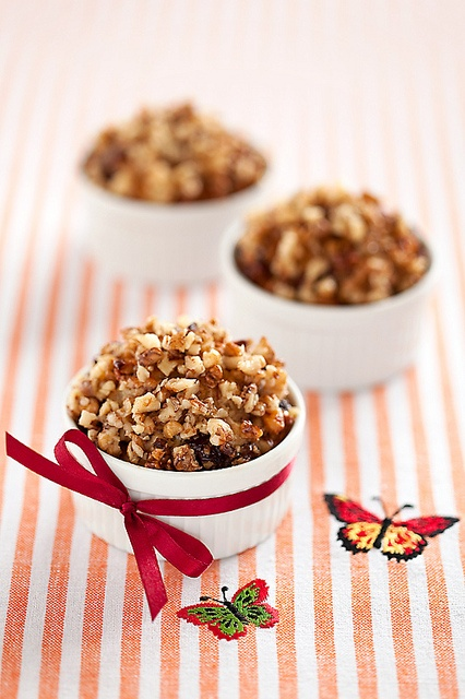 Cranberries and Walnuts Vegan Cakes by laperla2009, via Flickr