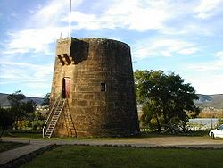 The martello tower at Fort Beaufort