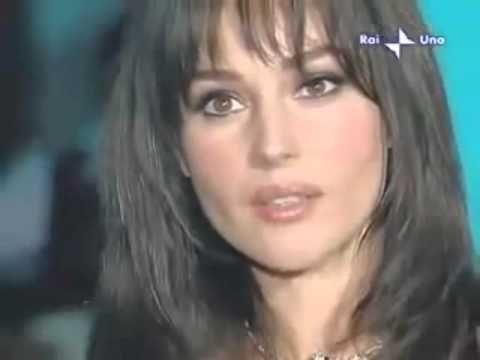 Monica Bellucci & Eros Ramazzotti - Piu Bella Cosa (RAI Uno)