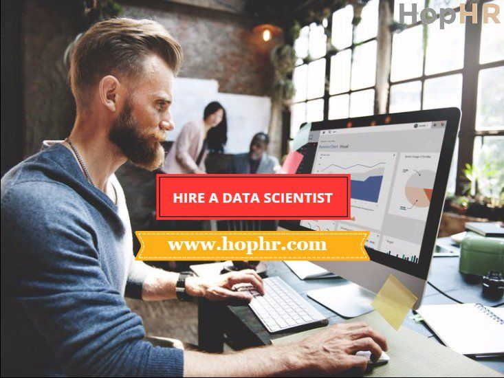 Hiring a data scientist is not just a trend to follow; it's what you need to take your business to the next level.