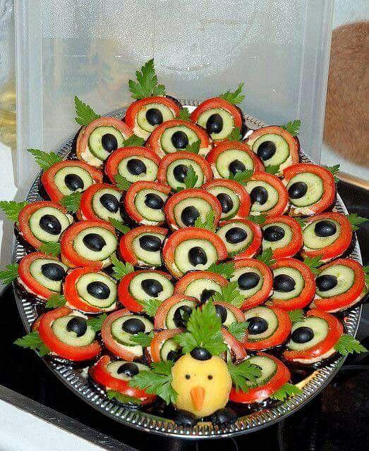 Turkey decor appetizer