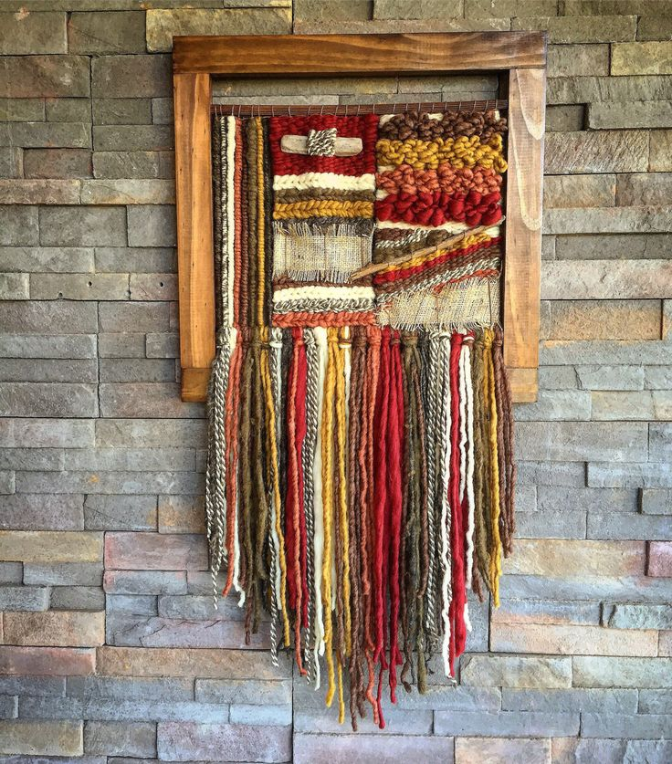 MADE TO ORDER. Handmade woven wall hanging. Made in Chile with natural wool and driftwood from Lago Puyehue. Measures 17,3x32 inches. It takes me 3 weeks to do it and 3 more weeks the delivery.