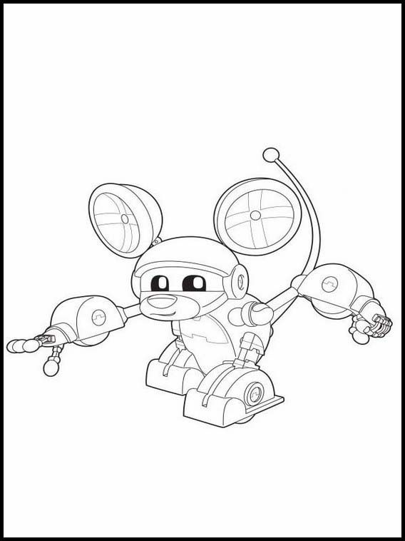 Animal Mechanicals 2 Printable Coloring Pages For Kids Online Coloring Pages Coloring Pages For Kids Coloring Pages