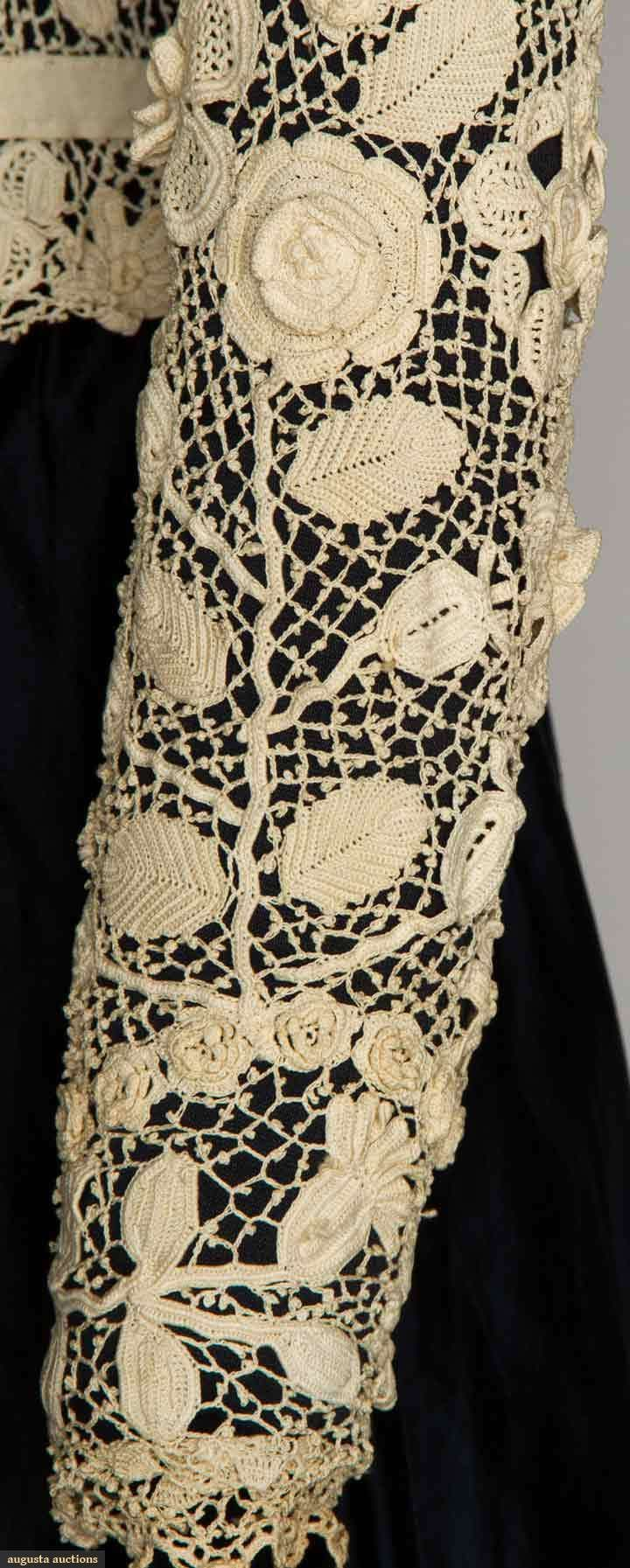 Augusta Auctions, April 17, 2013 - NYC: Two White Lace Blouses, 1900-1905