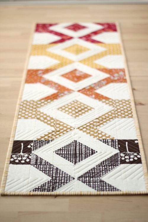 Pics For Modern Table Runner Patterns