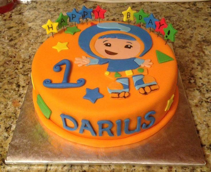 Team Umizoomi Geo Birthday Cake Gebruiken Voor Taart