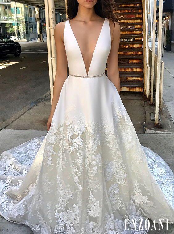 a3de78e3 Nico | Enzoani 2019 Vow Renewal Ceremony, White Wedding Dresses, Deb Dresses,  Formal